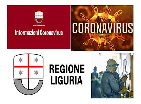 COVID-19 Regione Liguria – Ordinanza 72/2020